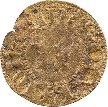 Bretagne (duché de), Jean IV, denier tournois, s.d. (après 1385), faux d'époque ?