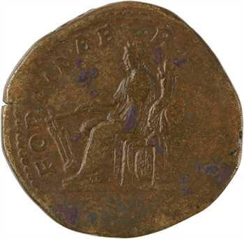 Septime Sévère, sesterce, Rome, 196