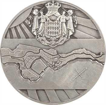 Monaco, la Principauté, par Pierre Turin, en argent, 1943 Paris