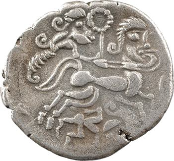 Vénètes, statère de billon, classe II au personnage allongé, c.80-50 av. J.-C.