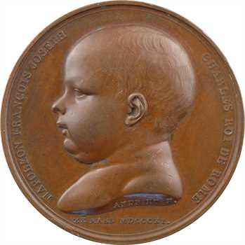 Premier Empire, naissance du Roi de Rome par Andrieu, 1811 Paris