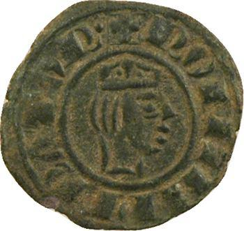 Italie, Sicile (royaume de), Frédéric II, obole ou demi-denier, c.1243 Messine