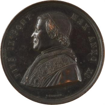 Vatican, Pie IX, proclamation du dogme de l'Immaculée Conception, par Bianchi, 1854/XI
