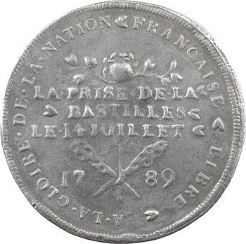 Constitution, la prise de la Bastille, 1789 Paris