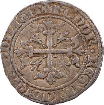 Italie, Naples (royaume de), Charles II d'Anjou, carlin ou gigliato, s.d. Naples