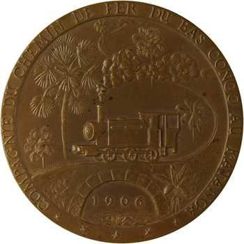 Congo Belge, cinquantenaire de la compagnie du chemin de fer du Bas Congo au Katanga, 1906-1956