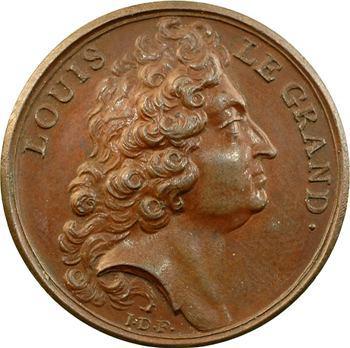 Louis XIV, médaille par J. Dassier, s.d