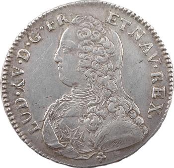 Louis XV, demi-écu aux rameaux d'olivier, 1734 Troyes