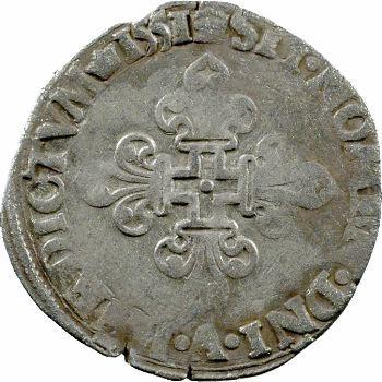 Henri II, gros de trois blancs dit demi-gros de Nesle, 1551 Paris
