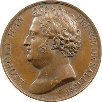 Charles X, visite du Prince de Salerne à la Monnaie de Paris, 22 juillet 1825