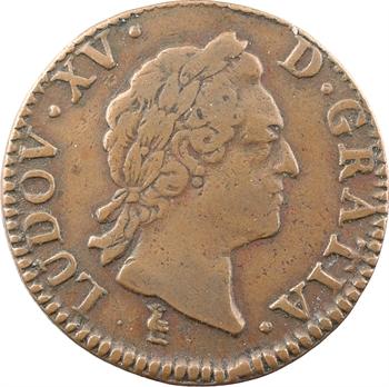 Louis XV, sol à la vieille tête, 1772 Troyes