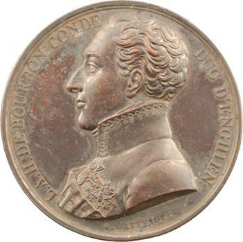 Consulat, mort de Louis Antoine de Bourbon-Condé, duc d'Enghien, par Gatteaux, 1804 Paris
