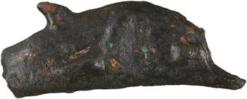 Thrace, Olbia du Pont, dauphin de bronze (fonte), c.525-410 av. J.-C