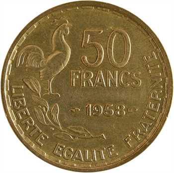 IVe République, 50 francs Guiraud, 1958 Paris