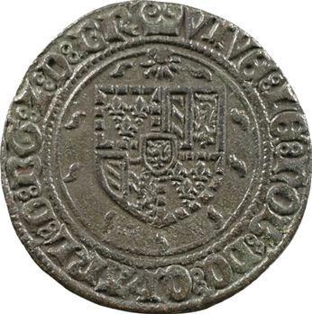 Pays-Bas méridionaux, Brabant, Charles Quint, jeton de la Monnaie d'Anvers