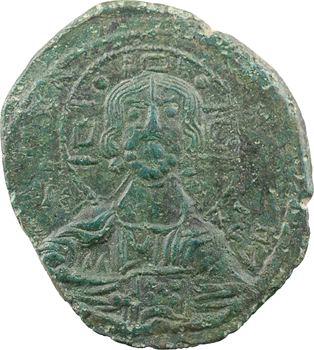 Romain III ou début XIe siècle, follis anonyme, classe B, Constantinople, s.d. (c.1028-1034)