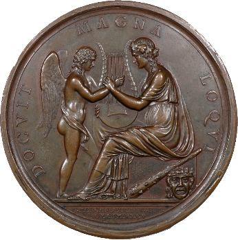 Italie, Pierre Métastase par T. Mercandetti, 1805 Rome