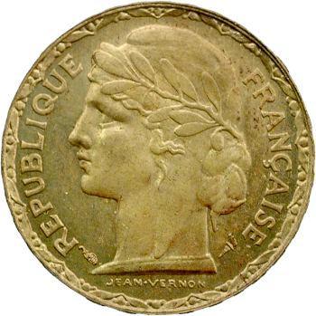 IIIe République, essai de 100 francs Vernon, bronze-aluminium, 1929 Paris
