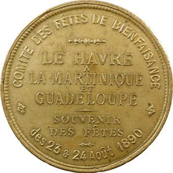 Martinique-Guadeloupe, Fêtes du Havre, 1890