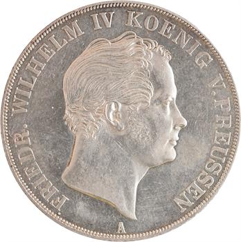 Allemagne, Prusse (royaume de), Frédéric-Guillaume IV, double thaler, 1841 Berlin