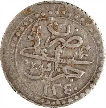 Algérie, Mahmud II, quart de budju, AH 1240 (1824)