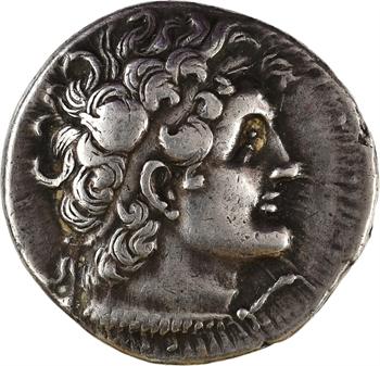Égypte, Ptolémée V ou VI, tétradrachme, Alexandrie, 204-180 ou 180-145 av. J.-C
