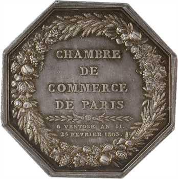 Premier Empire, Chambre de Commerce de Paris, 1804 Paris