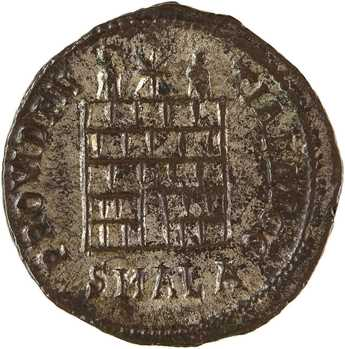 Constantin Ier, follis, Alexandrie, 1ère officine, 325-326