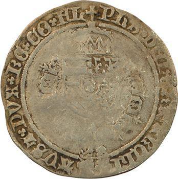 Flandre (comté de), Philippe le Beau, toison d'argent 2e type, s.d. Bruges
