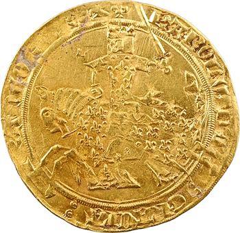 Charles V, franc à cheval