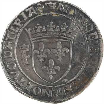 François Ier, teston 13e type, Lyon