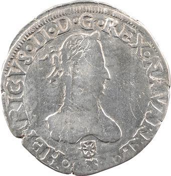 Navarre (royaume de), Henri III, franc, 1582 Saint-Palais