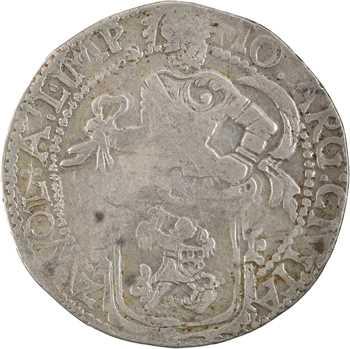 Pays-Bas, Overijssel, écu au lion (daalder), 1641 Zwolle