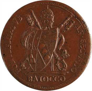 Vatican, Pie VII, baiocco, 1802 Rome