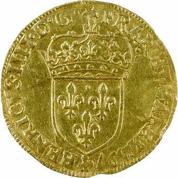 Henri IV, écu d'or au soleil, 1597 Paris