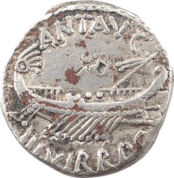 Marc Antoine, denier VIIe légion, Patrae (?), 32-31 av. J.-C.
