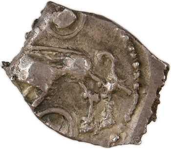 Rutènes, drachme à la petite tête bouclée et au sanglier, c.121-52 av. J.-C