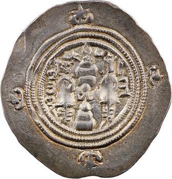 Royaume Sassanide, Chosroès II, drachme, An 12 (c.602) Ahwaz