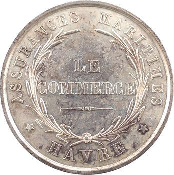 Louis-Philippe Ier, Le Havre, compagnie d'assurances maritimes Le Commerce, 1849 Paris