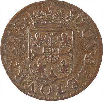 Charleville (principauté de), Charles Ier de Gonzague, double tournois 3e type, 1611 Charleville