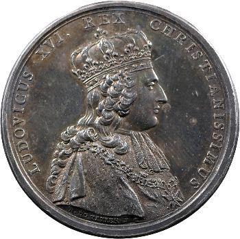 Louis XVI, médaille du sacre du Roi à Reims, 1775