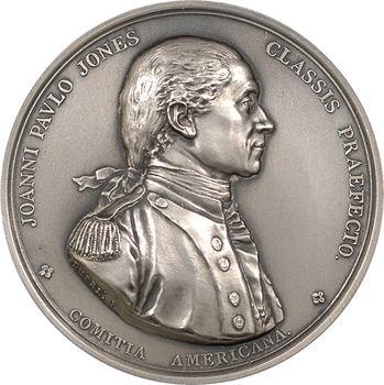 États-Unis, Comitia americana, capture de la frégate anglaise HMS Sérapis, (1779), RF (après 1880) Paris