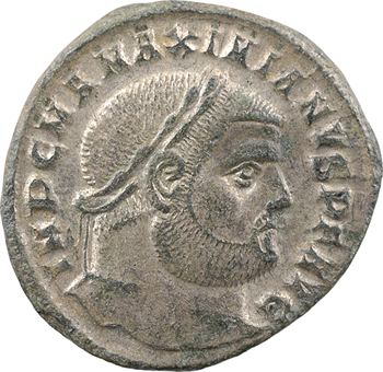 Maximien Hercule, follis, Héraclée, 3e officine, 297-298
