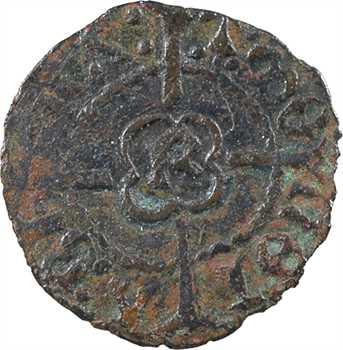 Bretagne (duché de), François II, obole, s.d. Rennes