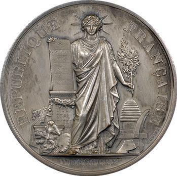 Russie, hommage de la municipalité du IIIe arrondissement de Paris à l'Amiral Avellan et à l'escadre russe, 1893