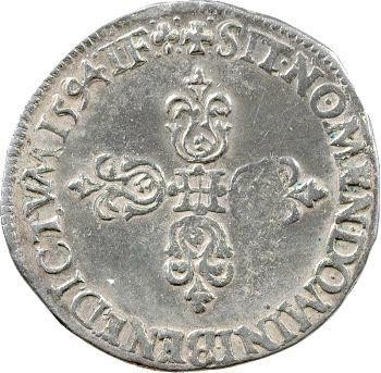 Henri IV, demi-franc, 1594 Lyon