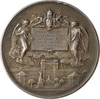 Vatican, Pie XI, exposition missionnaire au Vatican, par Johnson, 1925 (An IV) Rome