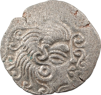 Coriosolites, statère de billon, classe V au nez en crosse, c.80-50 av. J.-C