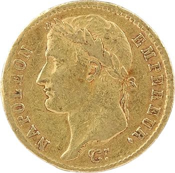 Premier Empire, 20 Francs Empire, 1810 Bordeaux