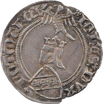 Lorraine (duché de), Jean Ier, quart de gros, s.d. (après 1372) Nancy